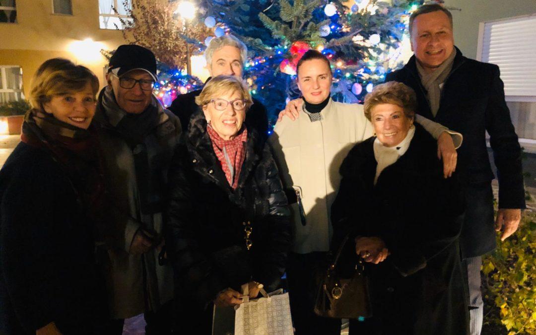 Uno, due, tre! Si illumina l'albero di Natale del Paese Ritrovato